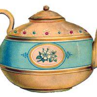 Teapot+Vintage+Image+GraphicsFairy4