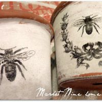 french Bee pots