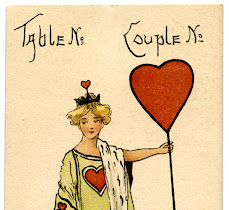 Vintage Ephemera Image – Queen of Hearts