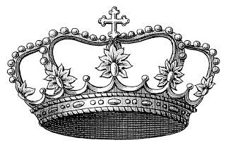 Transfer Printable – Pretty Crown