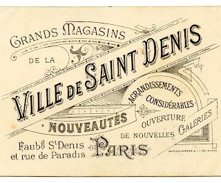 Vintage French Graphic – Amazing Paris Ephemera
