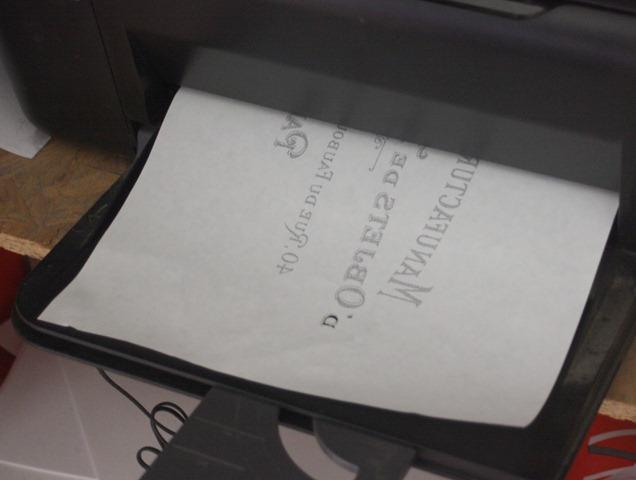 DIY Transfer Project Paris Printable