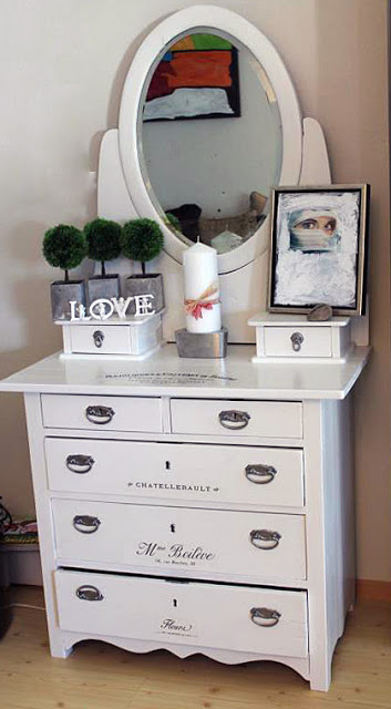French Chic Dresser Makeover The Graphics Fairy