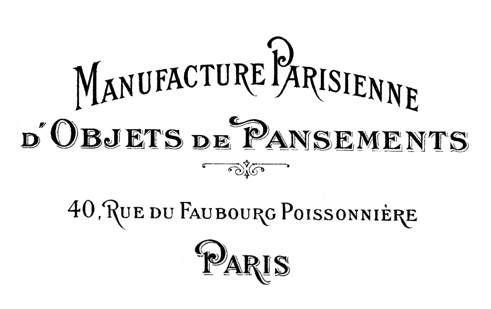 Parisienne Address Graphicsfairysm