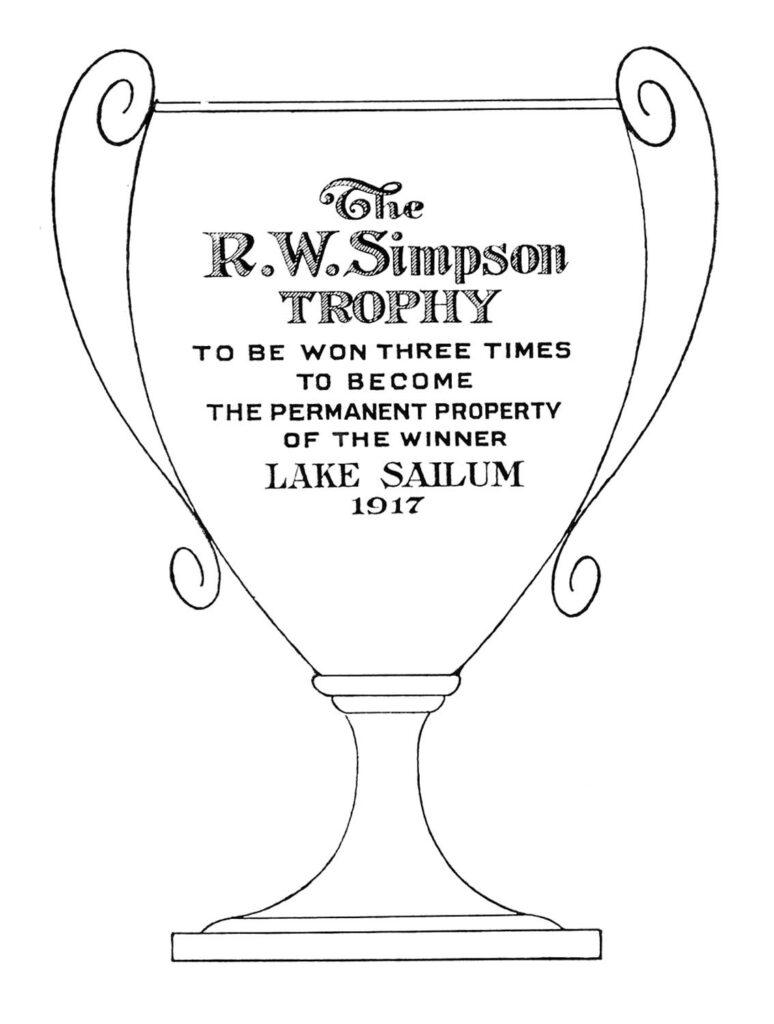 Trophy Loving Cup Line Art Clipart