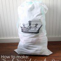 Make French Laundry Bag