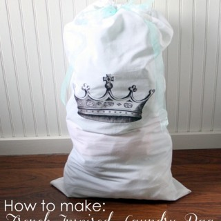 Make French Laundry Bag