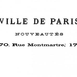 French Transfer Printable – Ville de Paris!