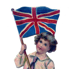 British Flag Boy Image