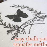 Easy-Chalk-Paint-Transfer-Method