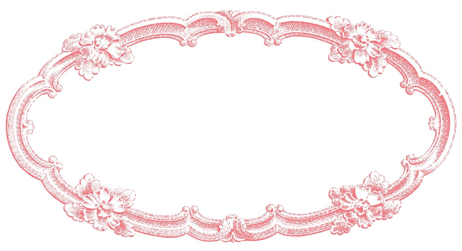 clip art oval frames free - photo #24