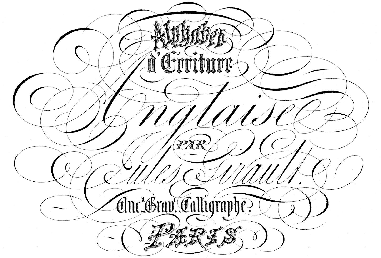 amazing ephemera paris typography the graphics fairy