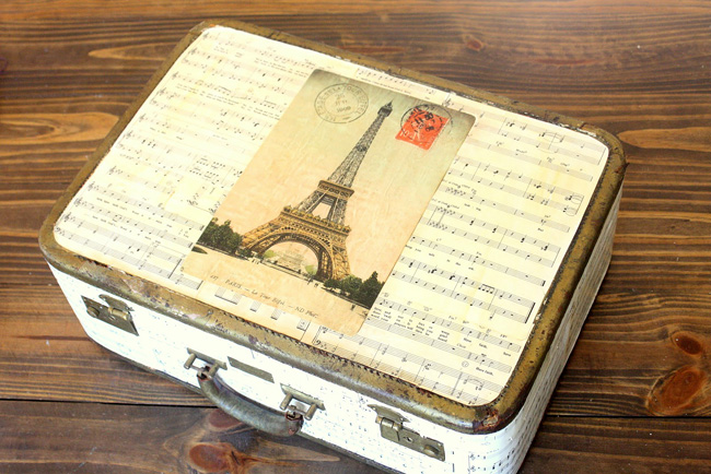 Eiffel Suitcase Sheet Music