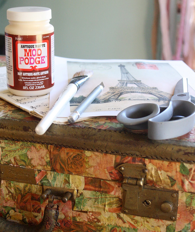 Antique Mod Podge Supplies