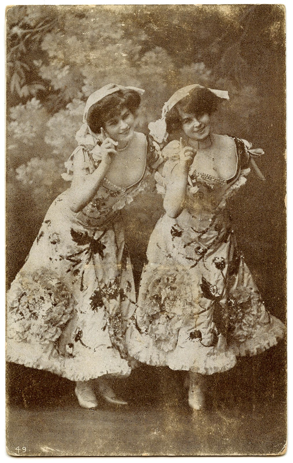Old Picture of Dancers