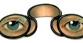 Amazing Antique Graphic – Spectacles with Eyes