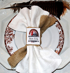 Make Thanksgiving Napkin Rings with PhotoFabric
