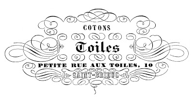 Image Transfer Printable – French Toiles
