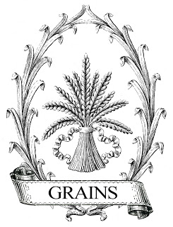 Printable Image Transfer – French Grain Sack – Wheat