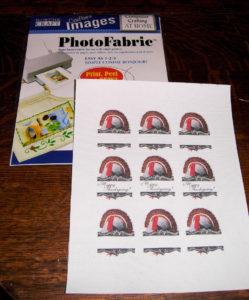 Print on PhotoFabric