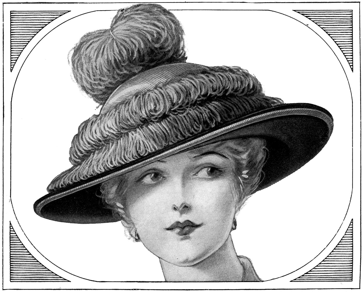 vintage hat clipart - photo #15