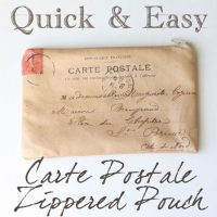 carte+postale+zippered+pouch+via+Graphics+Fairy+DIY
