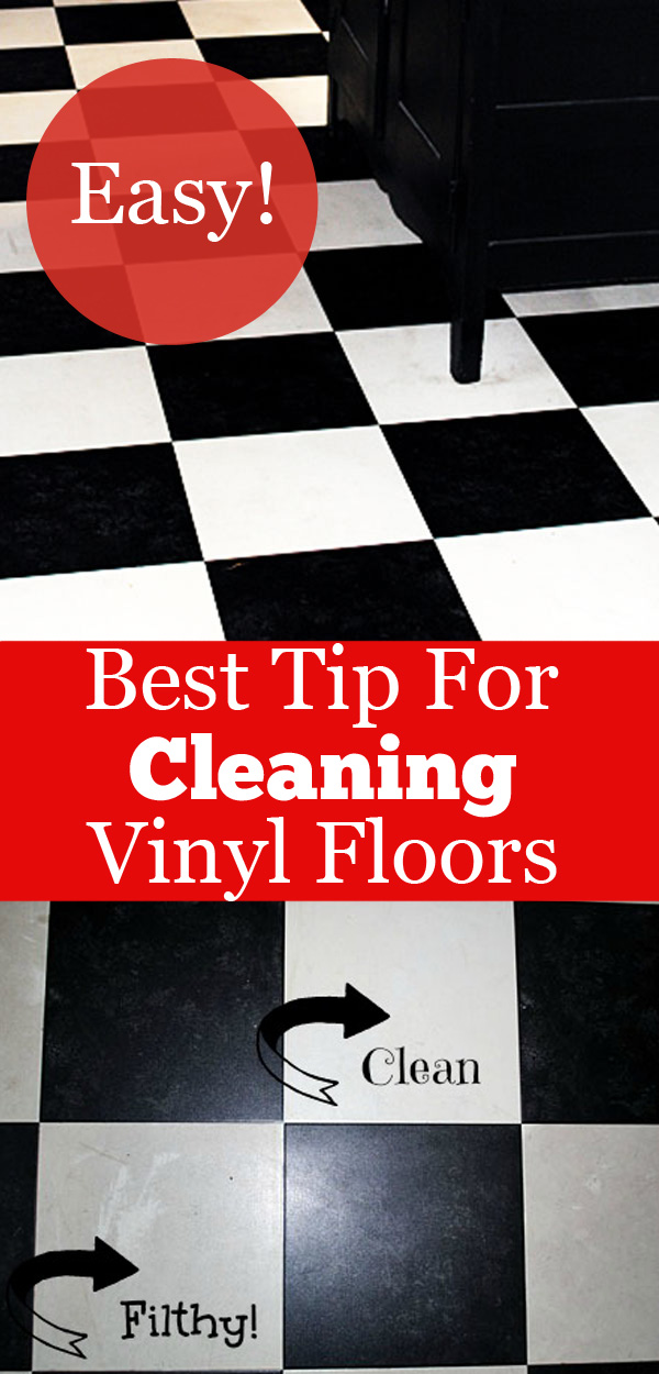 My Secret Tip How To Clean Vinyl Floors Easily The Graphics Fairy