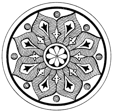 Ornamental Medallion Graphic