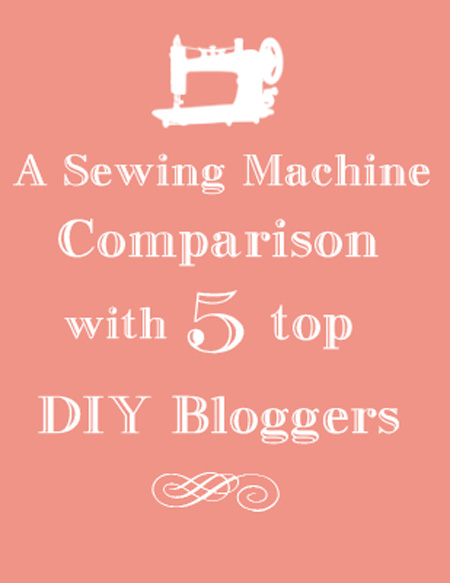 Curtains Ideas best sewing machine for making curtains : A Sewing Machine Comparison with 5 Top DIY Bloggers! - The ...
