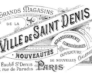 Transfer Printable – Amazing Paris Ephemera!