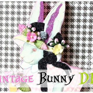 Make a Cute Bunny for your Easter Decor