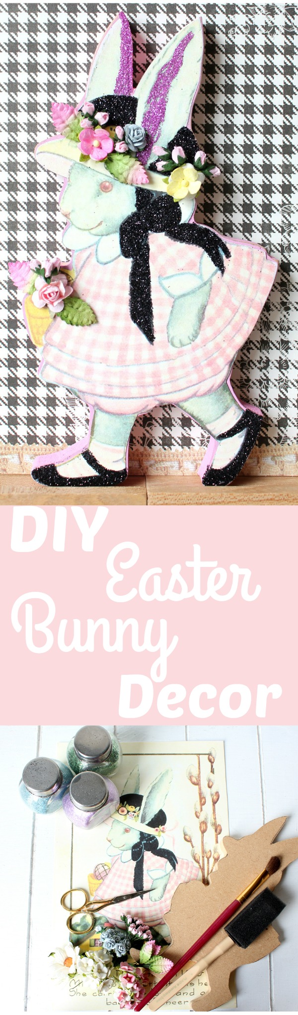 DIY Easter Bunny Decor - The Graphics Fairy