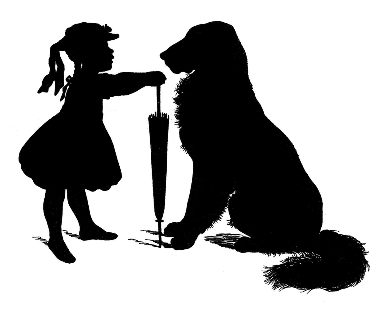 Dog Silhouette Vector Free Download Free Vector Download
