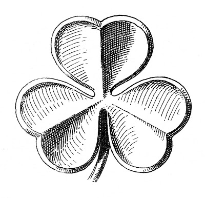 Public Domain Clip Art - Shamrocks - St. Patrick's Day