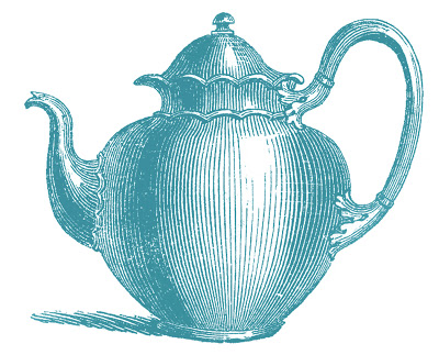 Royalty Free Images Antique Teapots