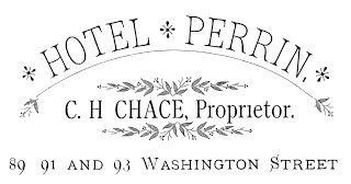 Typography – Iron on Transfer – Hotel Sign
