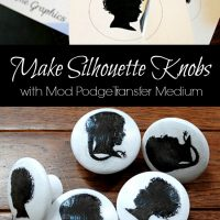 silhouette knobs graphics fairy