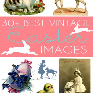 30+ Best Vintage Stock Easter Images – Free