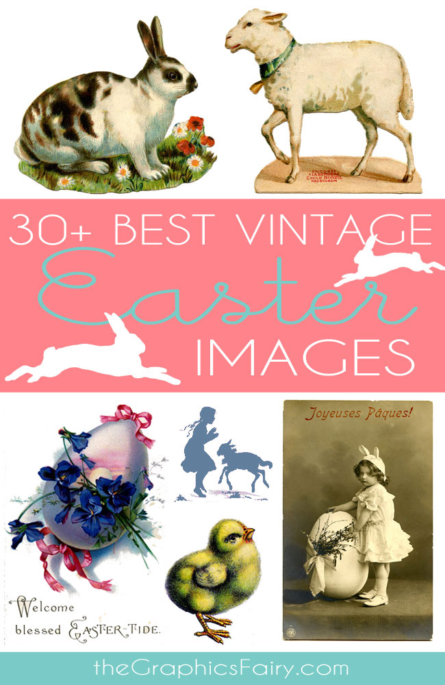 Best Vintage Stock Easter Images