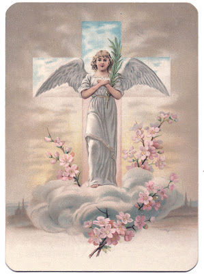 Easter Image  Especially Pretty Angel