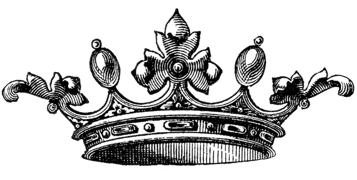 free vector clipart crown - photo #1