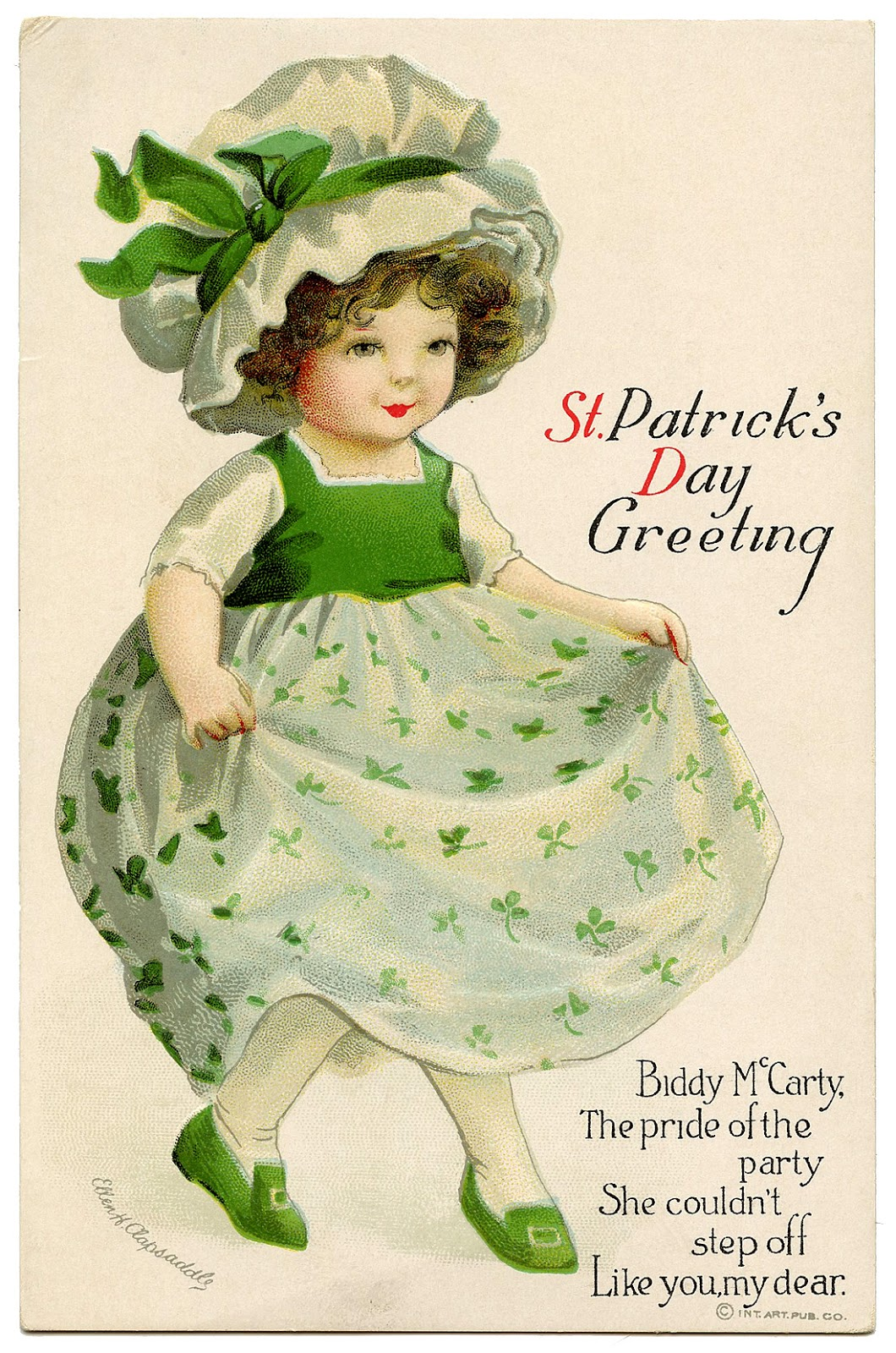 clip art of st patrick u0027s day the graphics fairy