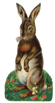 Vintage Easter Image Best Bunny Rabbit