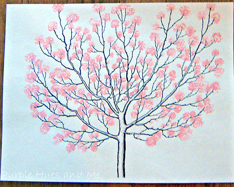 Brag Monday Rooster Sign Painted Cherry Blossom Trees