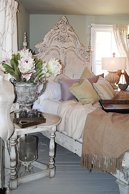 French Romantic Bedroom: Gorgeous Decor At The April 2013 Design House At Lucketts