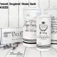 French Grain Tins DIY