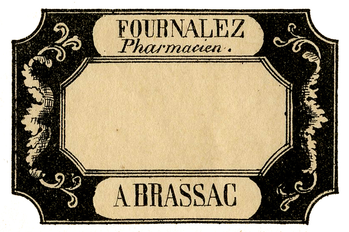 Vintage French Pharmacy Labels Apothecary 5 Options The