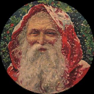 Amazing Victorian Graphic – Santa!
