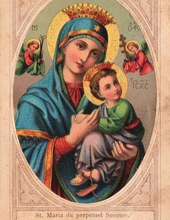 Early Graphic – Madonna with Child