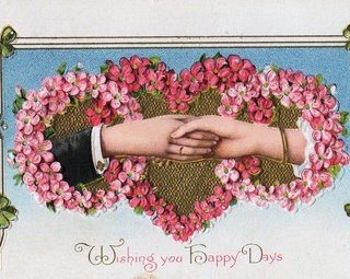 Victorian Graphic- Hearts & Hands